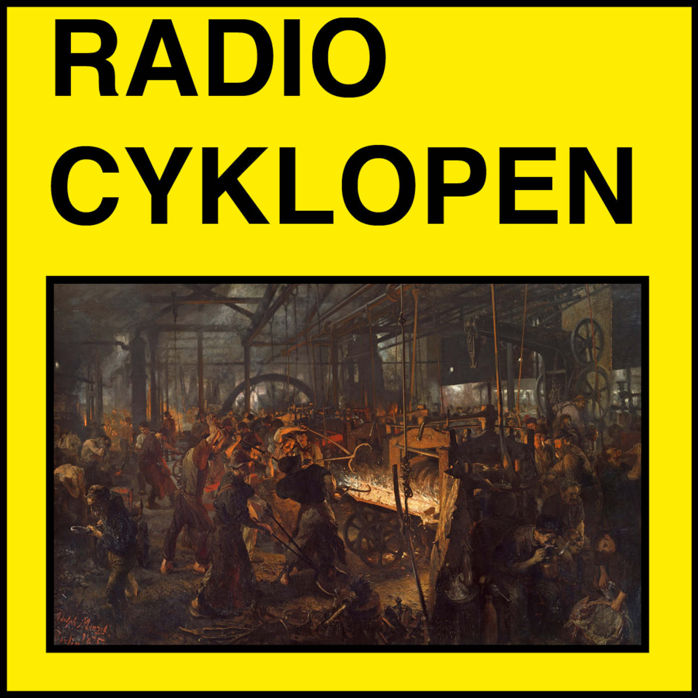 Radio Cyklopen #19: Releasefesten 2 fabriken
